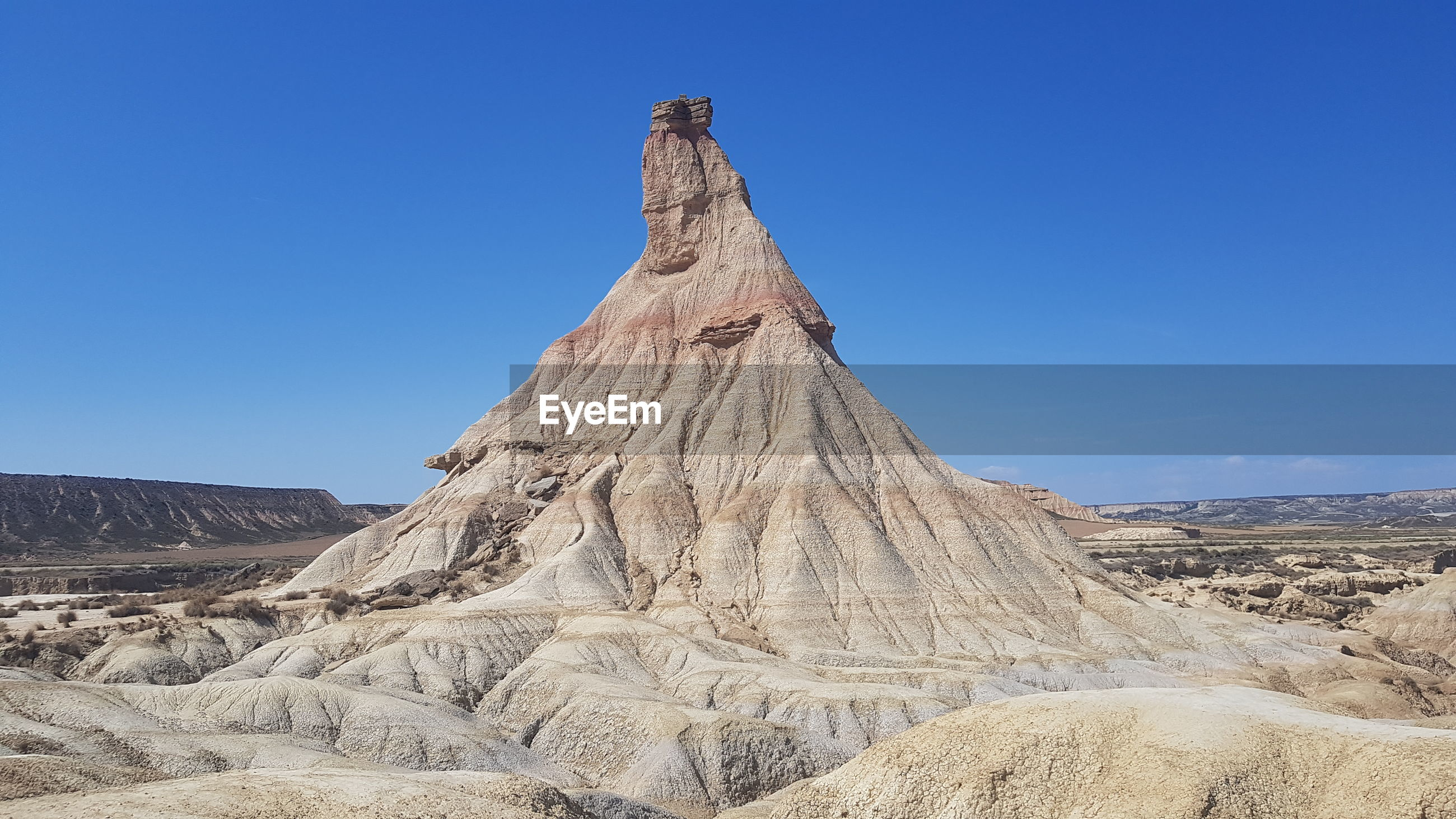 Rock formations in a desert