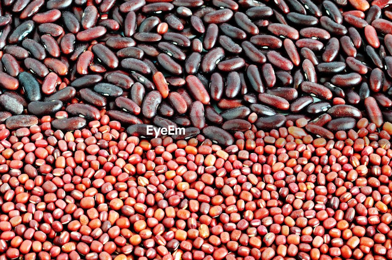 Full frame shot of beans for sale
