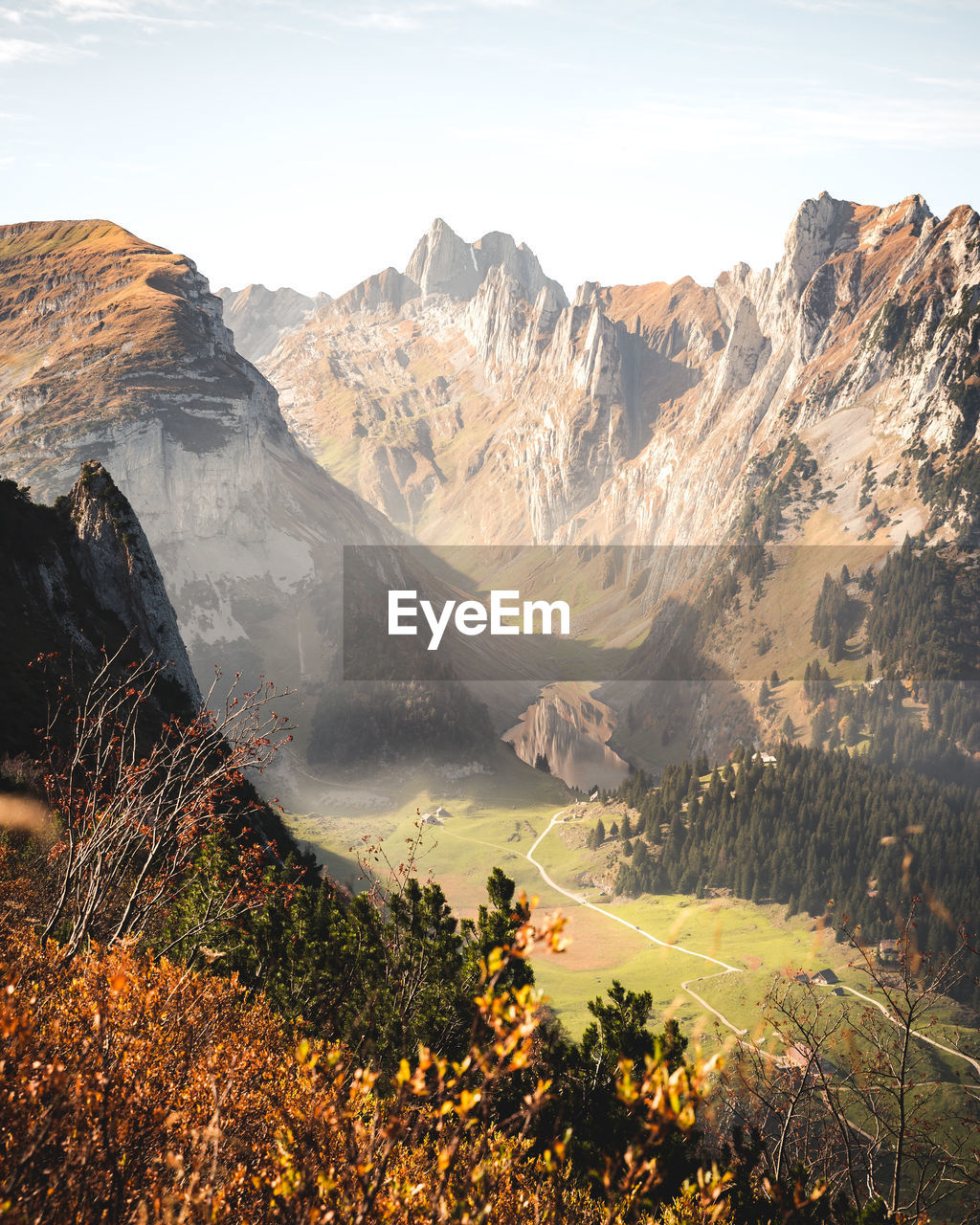SCENIC VIEW OF MOUNTAINS AND SKY