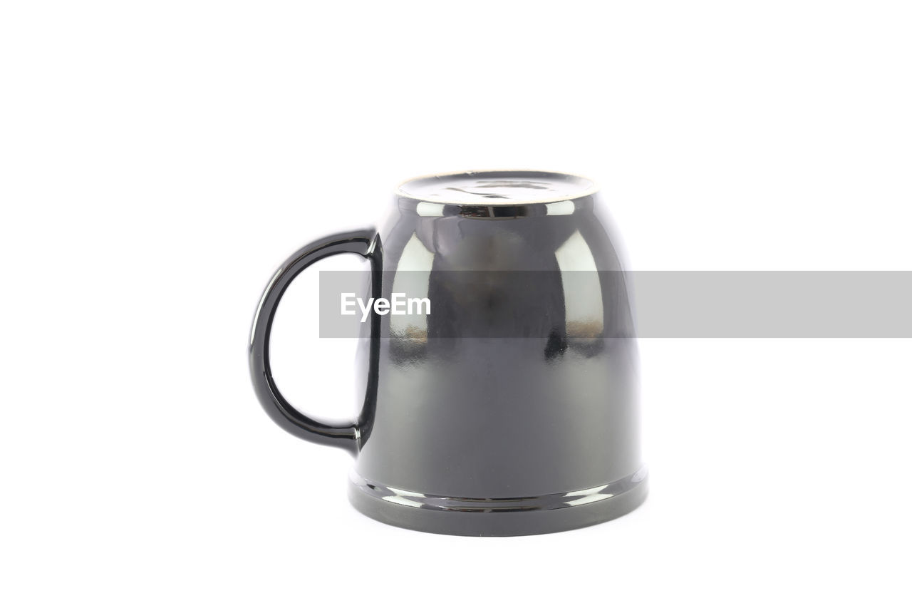 studio shot, white background, indoors, food and drink, still life, container, copy space, cut out, no people, close-up, single object, drink, glass - material, food, refreshment, jug, transparent, freshness, household equipment, handle, pitcher - jug, crockery, coffee pot