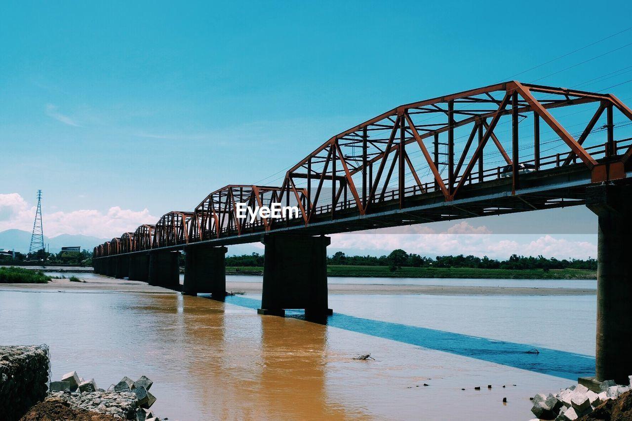 View Of Bridge Over River