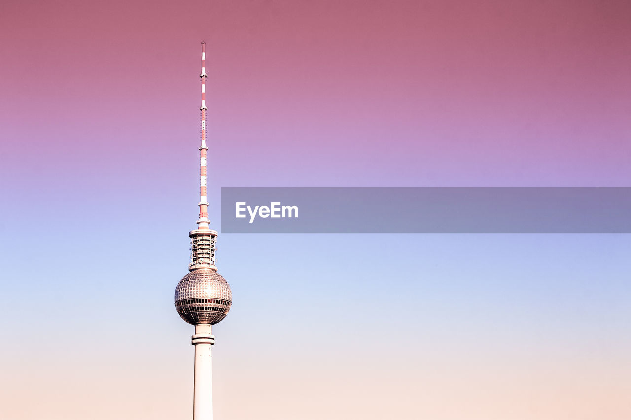 Television Tower Against Sky