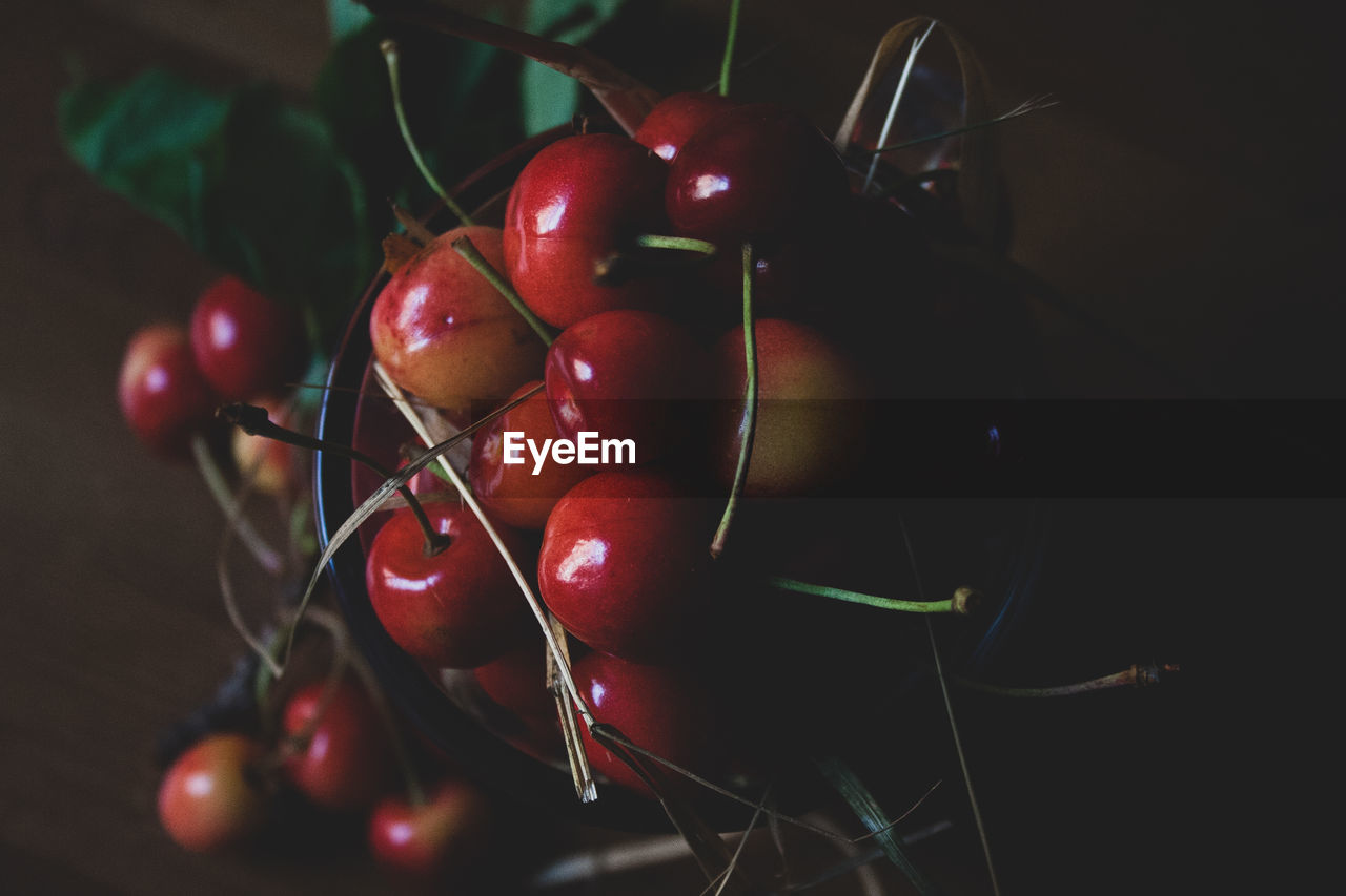 food and drink, food, healthy eating, red, freshness, wellbeing, close-up, fruit, still life, indoors, cherry, no people, large group of objects, plant stem, group of objects, ripe, nature, bunch, day, plant