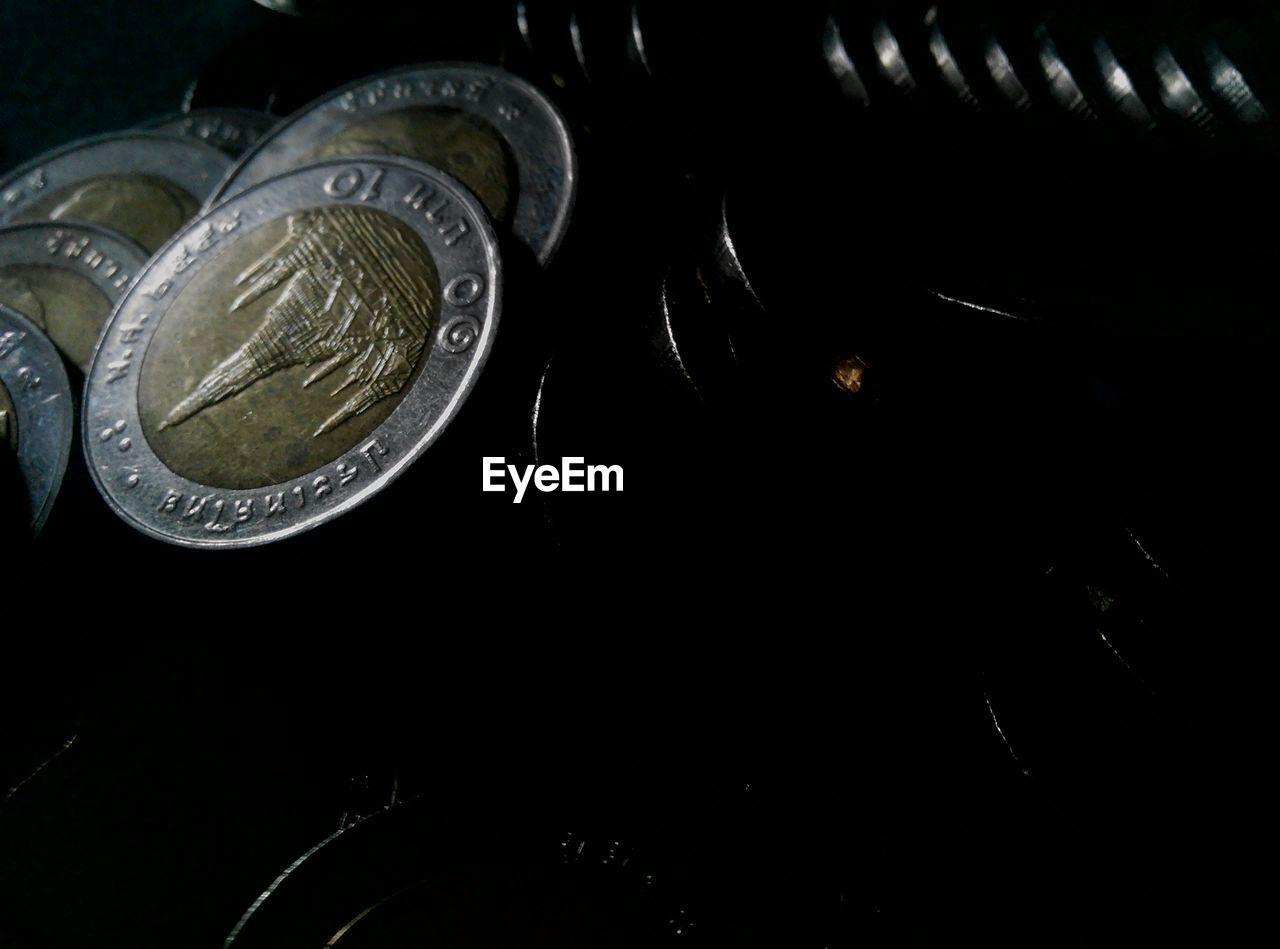 coin, finance, wealth, currency, text, indoors, no people, communication, close-up, day