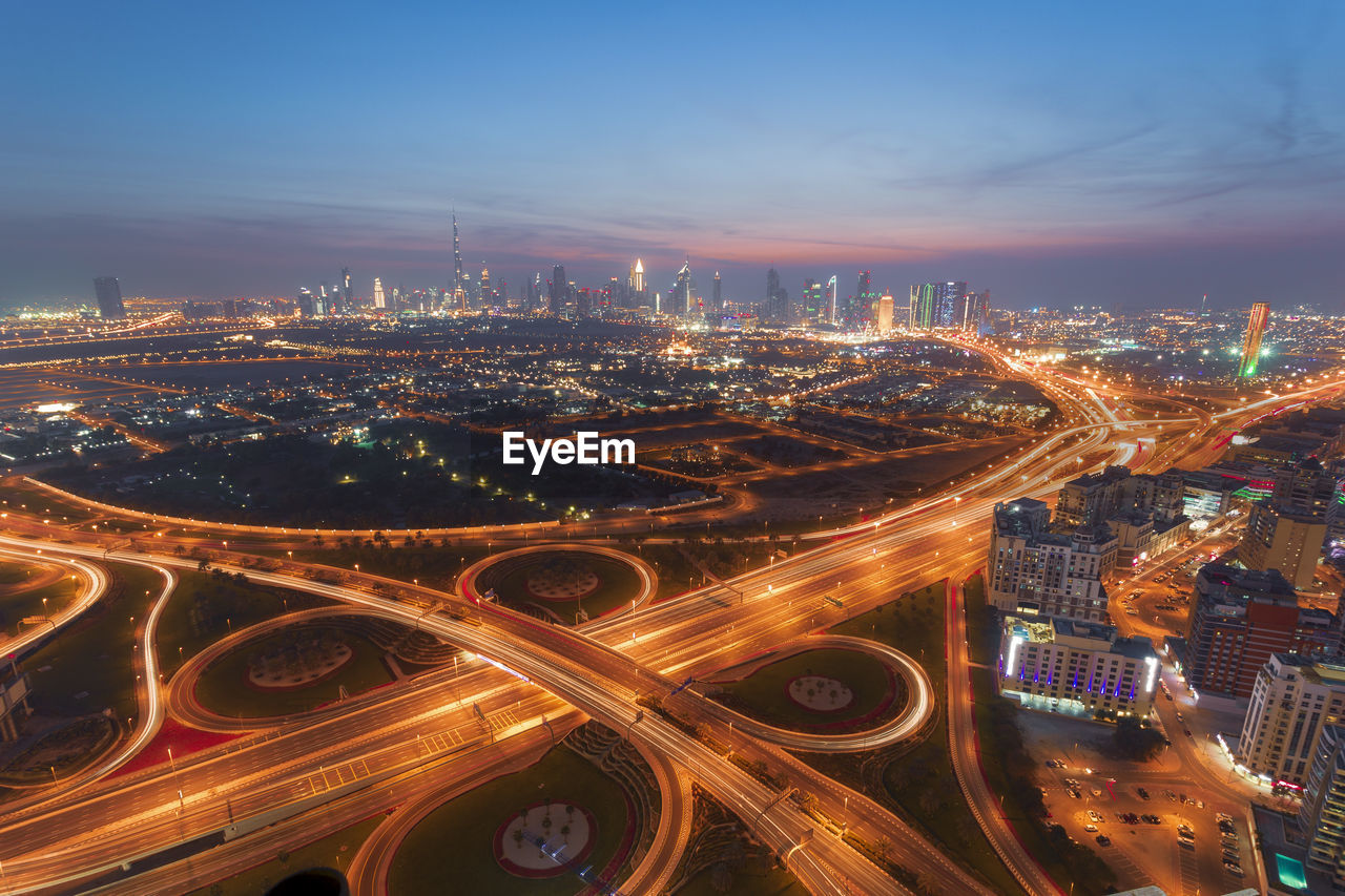 Dubai transportation networks