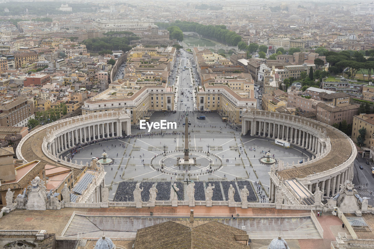 View from st peter basilica