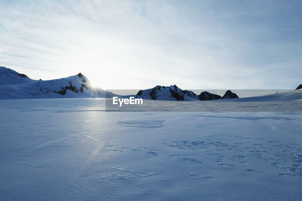 Scenic View Of Snowy Landscape