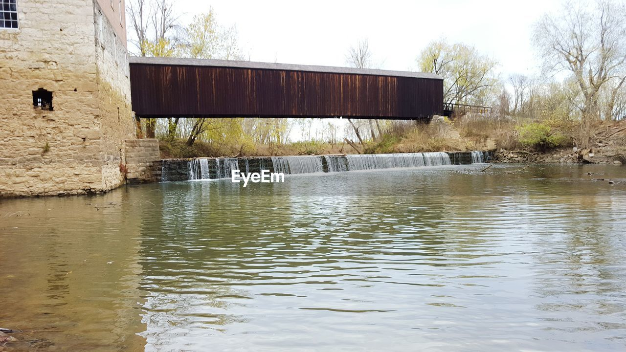 water, architecture, built structure, building exterior, lake, day, no people, outdoors, nature, desolate, tree