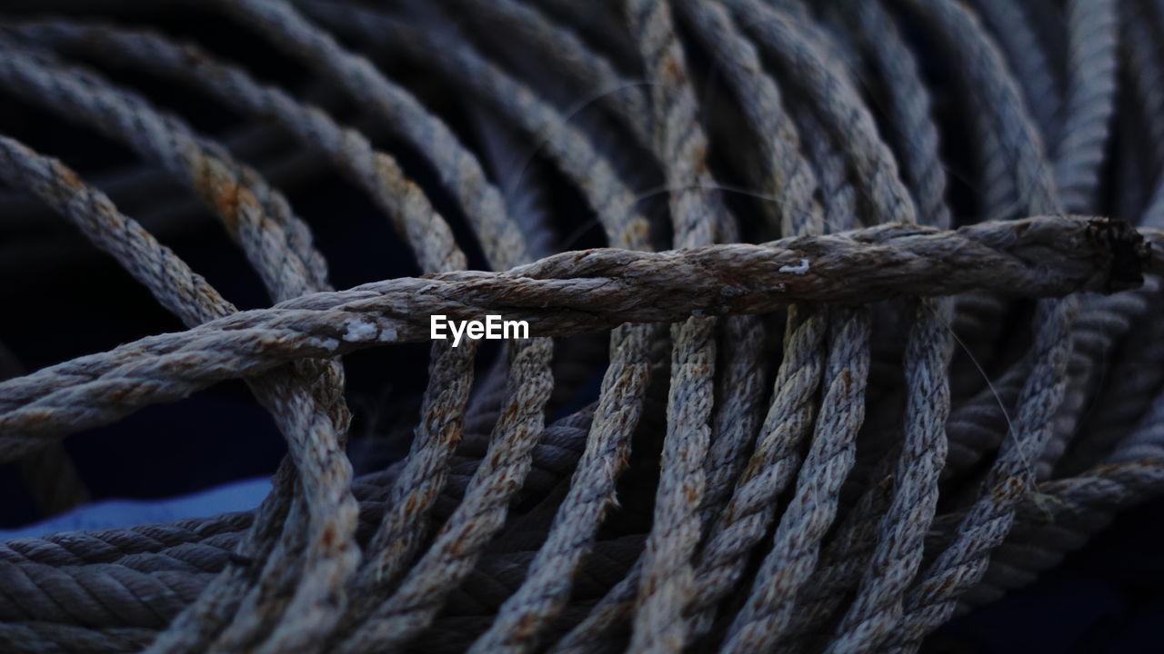 Detail shot of rope