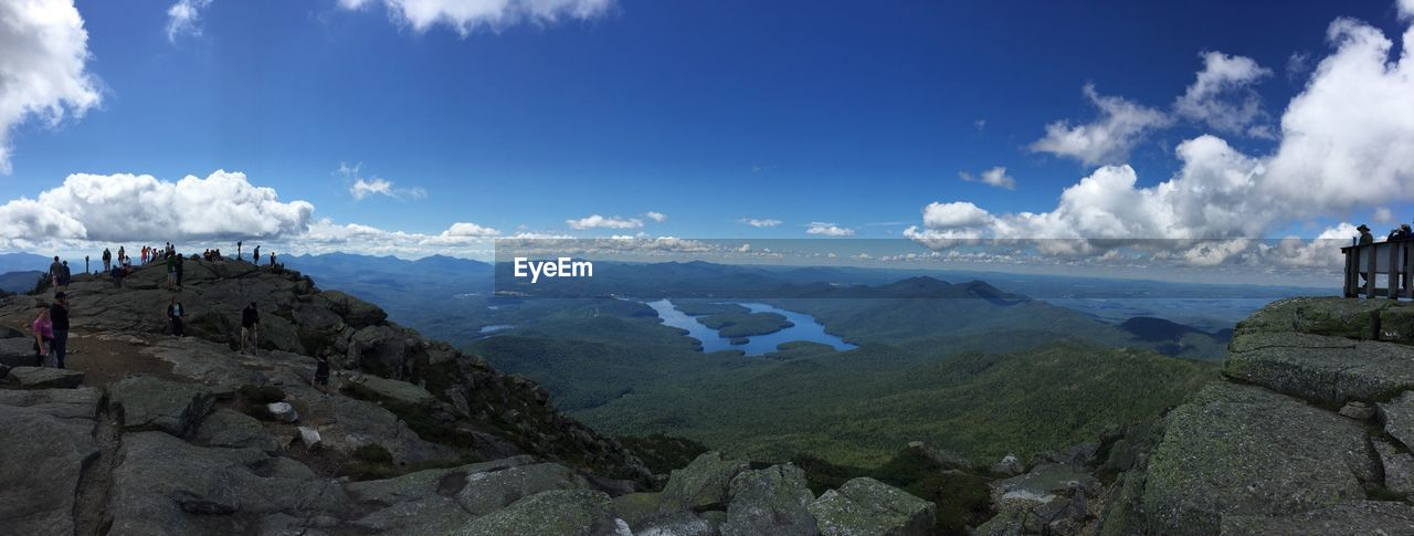 PANORAMIC SHOT OF LANDSCAPE AGAINST SKY