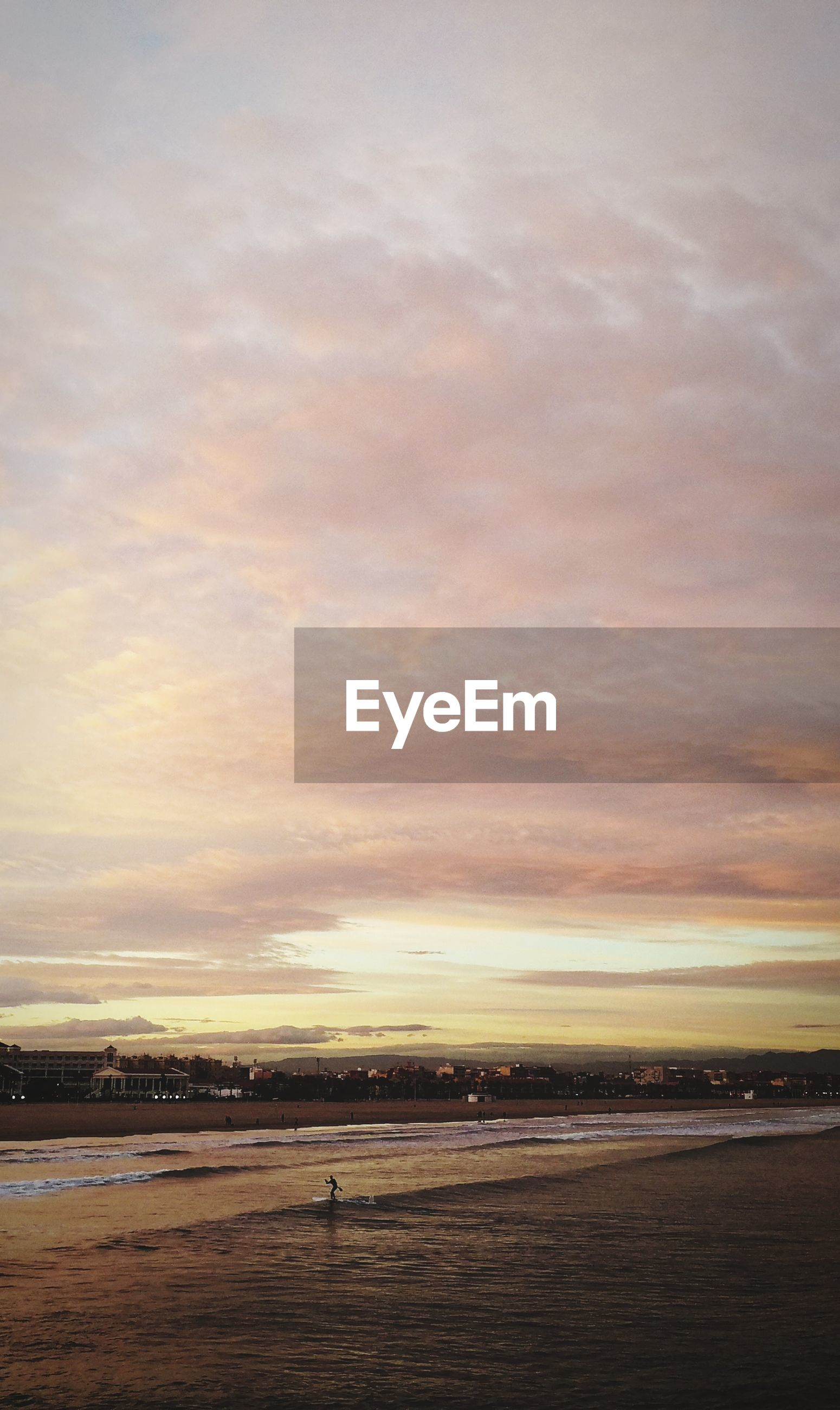 sky, cloud - sky, sunset, scenics - nature, sea, beauty in nature, nature, water, tranquil scene, tranquility, outdoors, beach, no people, airport, transportation, orange color, travel, dusk, airplane