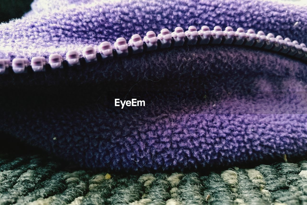 close-up, textile, no people, pattern, purple, clothing, full frame, animal themes, warm clothing, backgrounds, animal, nature, textured, selective focus, underwater, wool, indoors, winter, one animal, water, marine