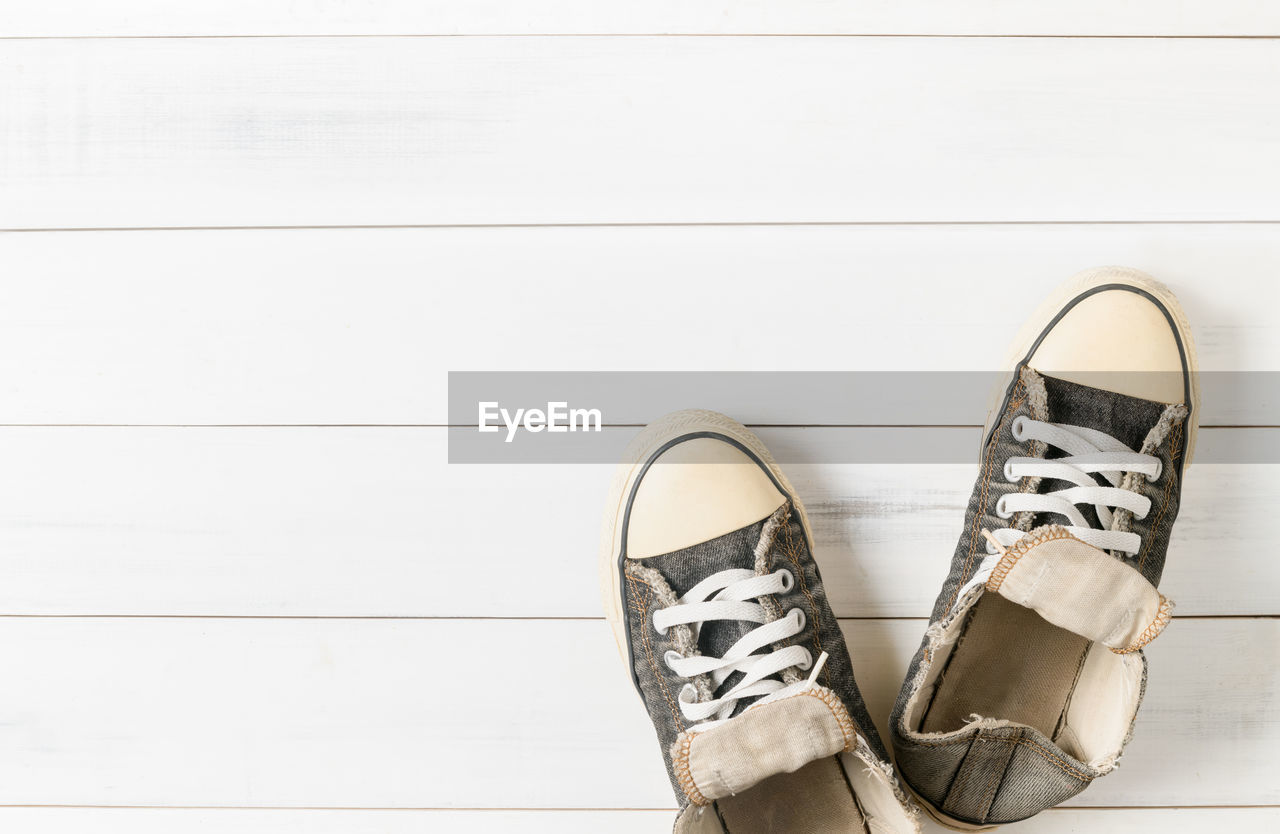 Close Of Shoes