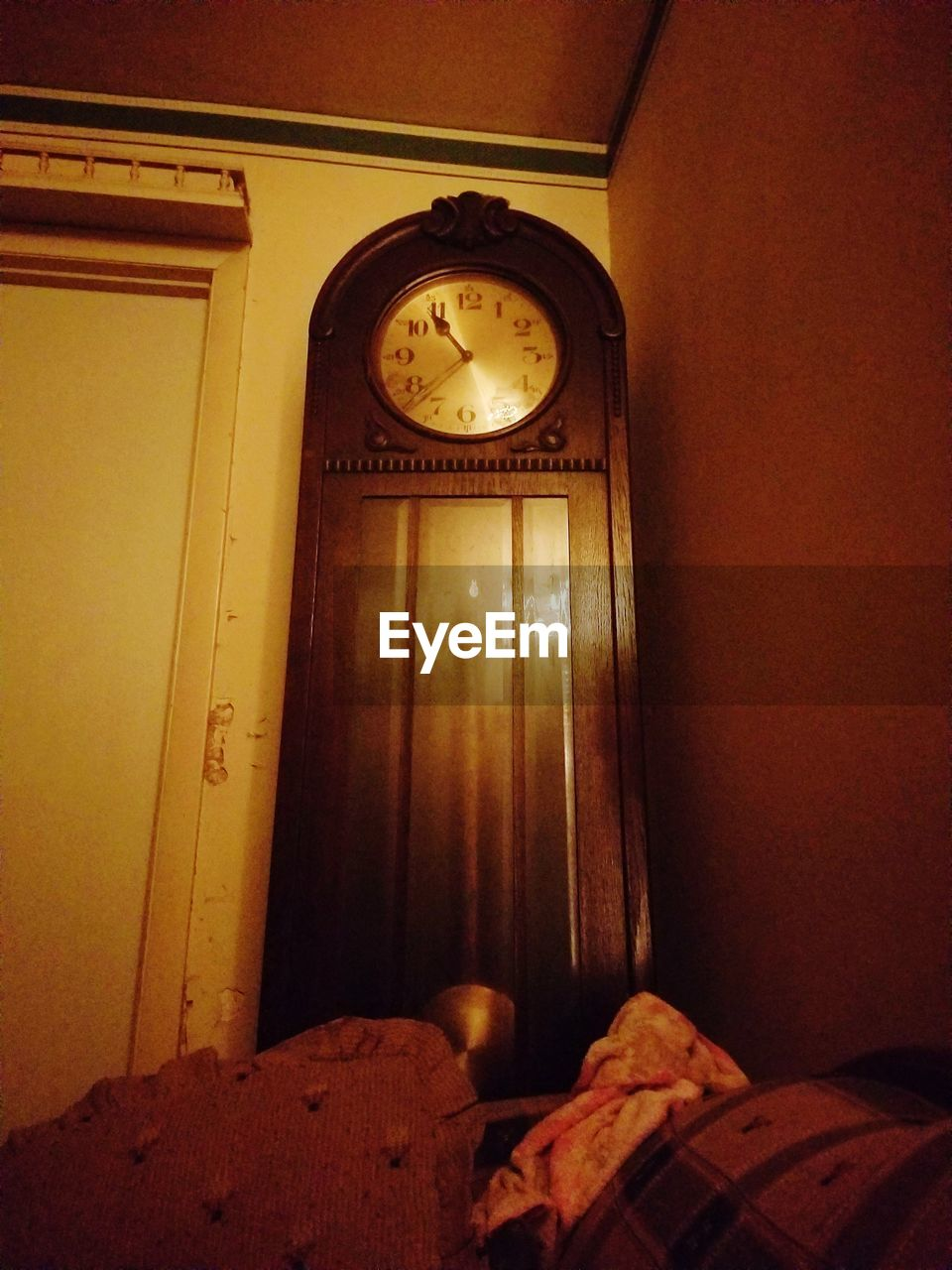 time, clock, indoors, no people, home interior, architecture, roman numeral, minute hand, clock face, day, close-up