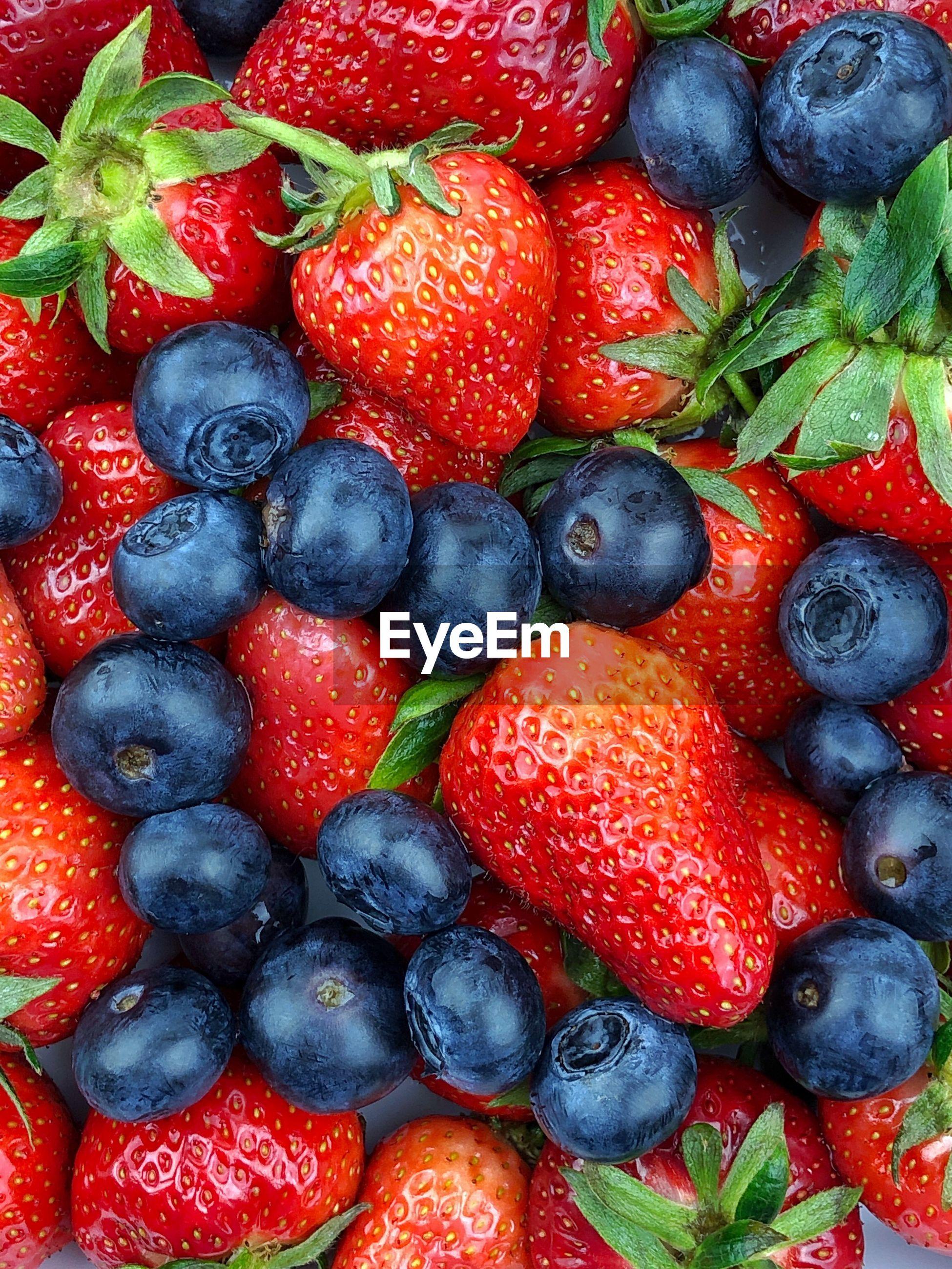 Full frame shot of fresh fruit