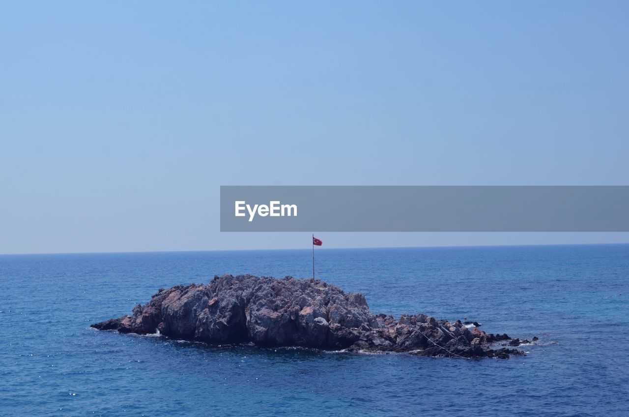 sea, horizon over water, water, nature, clear sky, beauty in nature, blue, scenics, tranquility, waterfront, outdoors, day, no people, sky