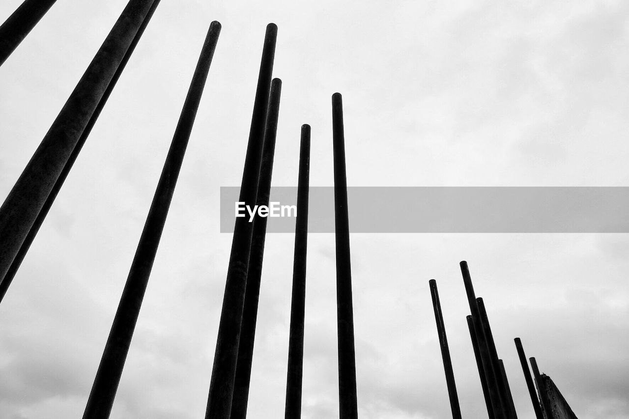 low angle view, sky, day, no people, pattern, outdoors, close-up