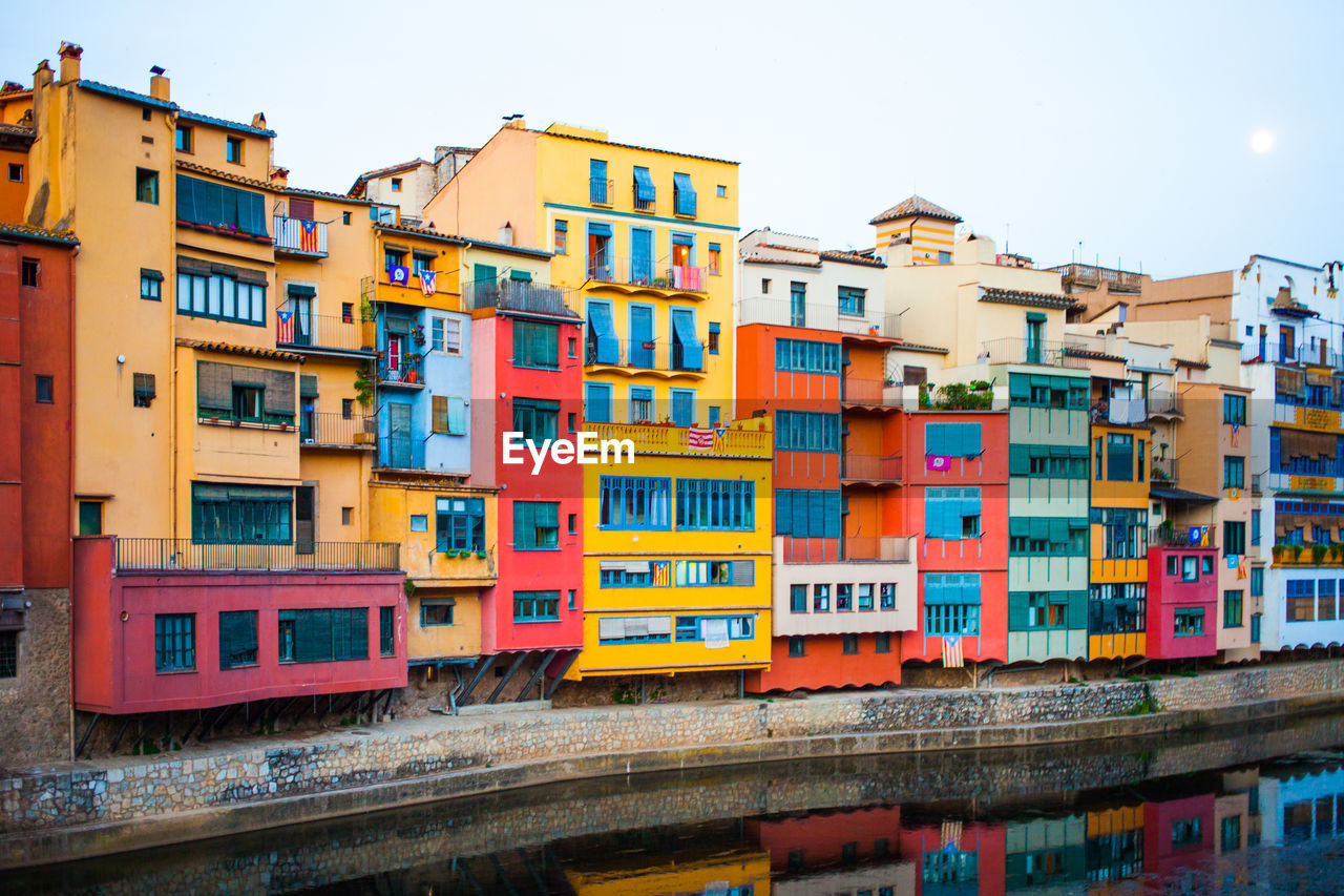MULTI COLORED RESIDENTIAL BUILDINGS