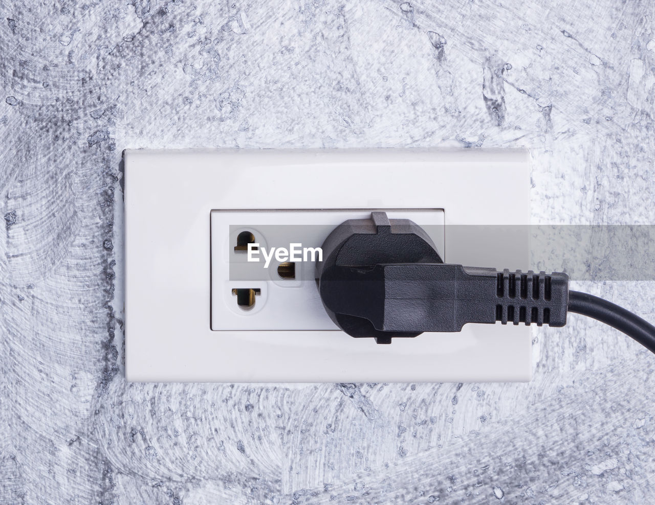 technology, cable, connection, electricity, close-up, electric plug, white color, no people, communication, cold temperature, winter, wall - building feature, snow, outlet, control, fuel and power generation, day, outdoors, power supply, electrical equipment, electrical component