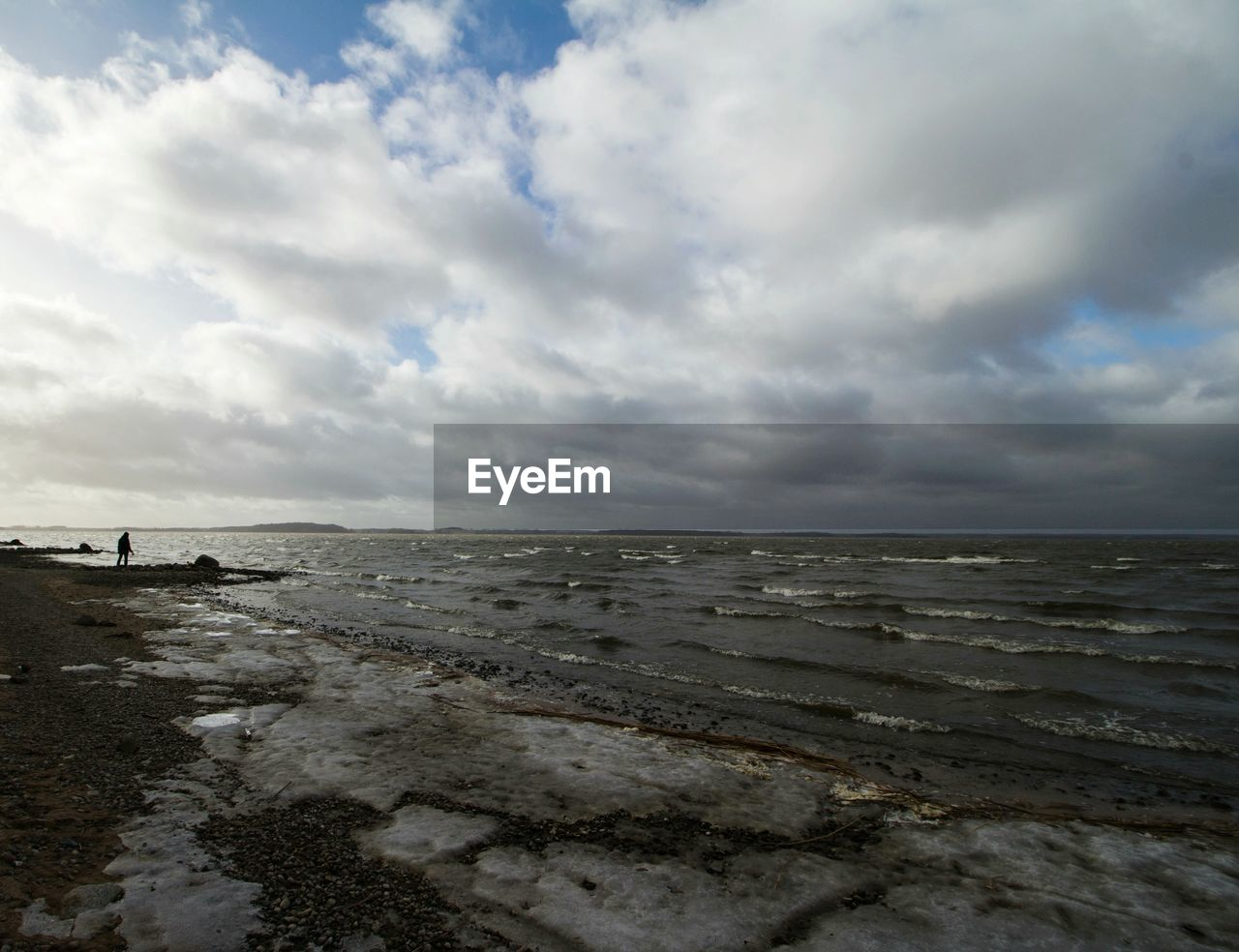 sea, beach, horizon over water, water, sky, cloud - sky, nature, scenics, shore, tranquil scene, beauty in nature, tranquility, sand, outdoors, day, wave, low tide, no people