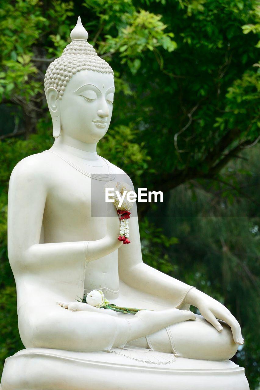Buddha Statue In Park