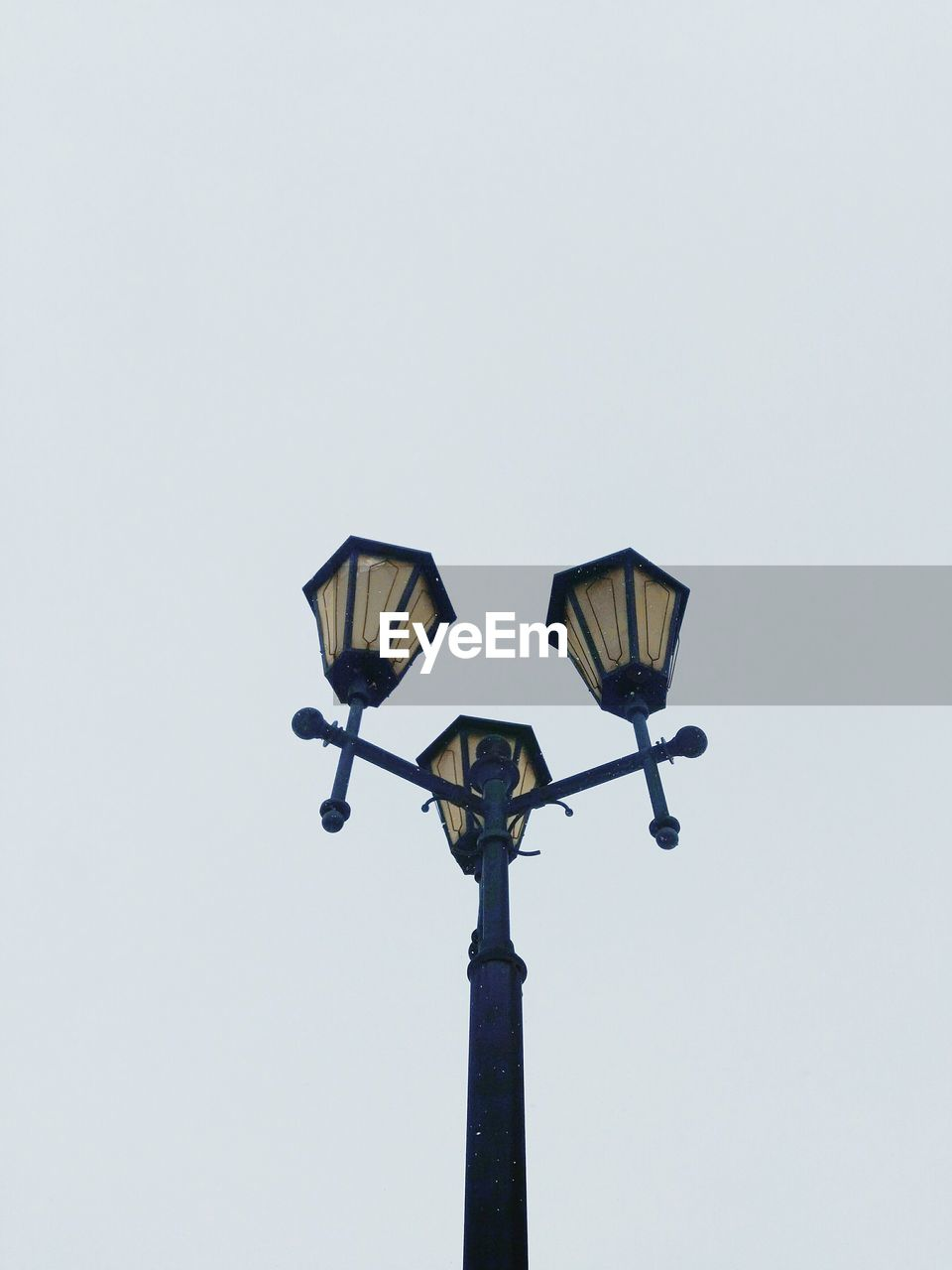 lighting equipment, street, street light, low angle view, sky, copy space, electric light, clear sky, no people, light, nature, gas light, technology, outdoors, retro styled, antique, day, electric lamp, electricity, light fixture
