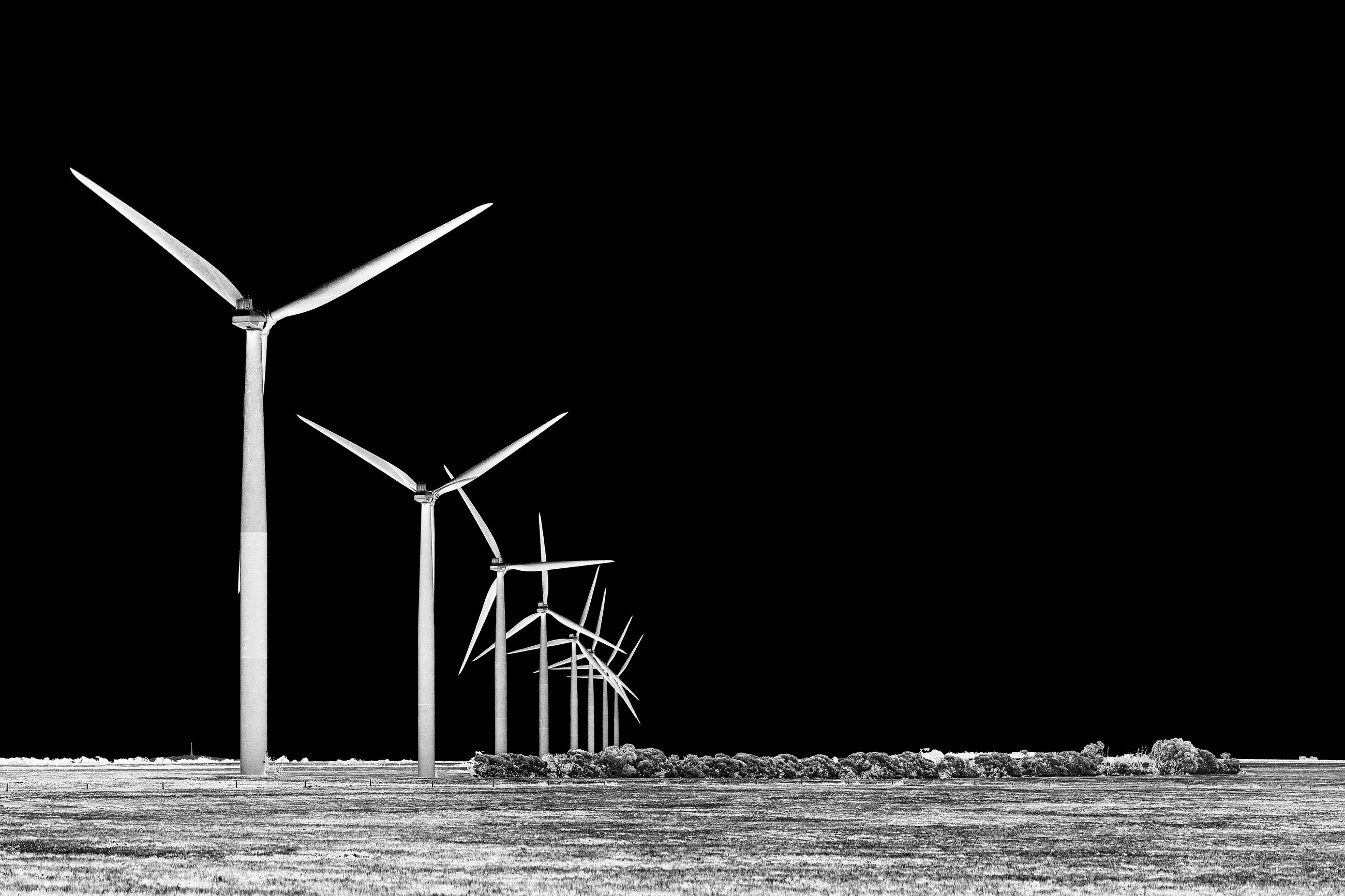 turbine, alternative energy, fuel and power generation, wind turbine, renewable energy, environment, wind power, environmental conservation, nature, sky, land, water, no people, copy space, clear sky, outdoors, motion, night, sea, power in nature