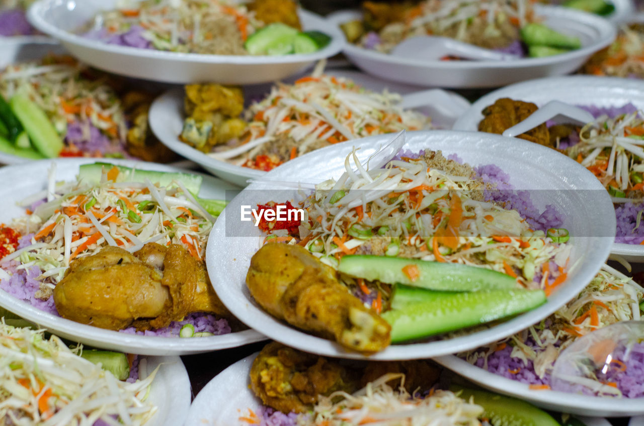food and drink, food, ready-to-eat, freshness, plate, healthy eating, serving size, close-up, indoors, selective focus, wellbeing, vegetable, no people, still life, table, bowl, meat, choice, salad, meal, temptation, vegetarian food