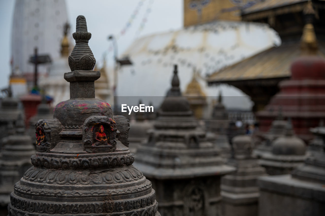 VIEW OF TEMPLE