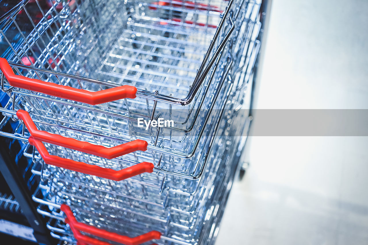 Close-Up Of Shopping Baskets