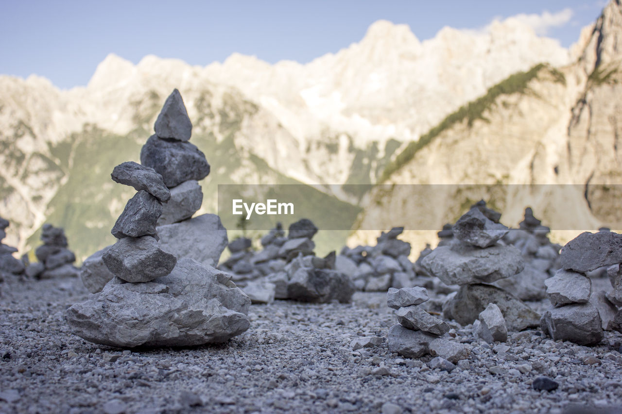 rock - object, mountain, no people, day, nature, focus on foreground, outdoors, stack, beauty in nature, sky, close-up