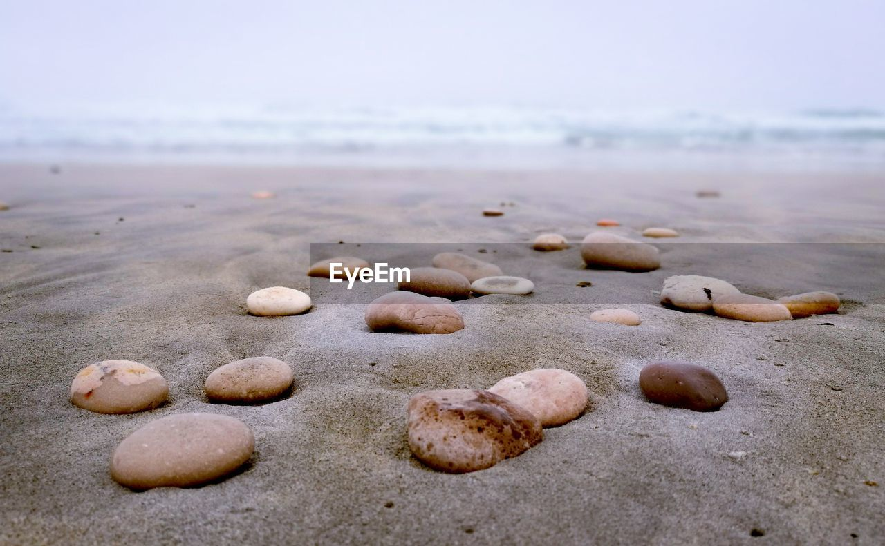 beach, shore, sand, nature, no people, outdoors, day, close-up, sea, beauty in nature, water, sky, pebble beach
