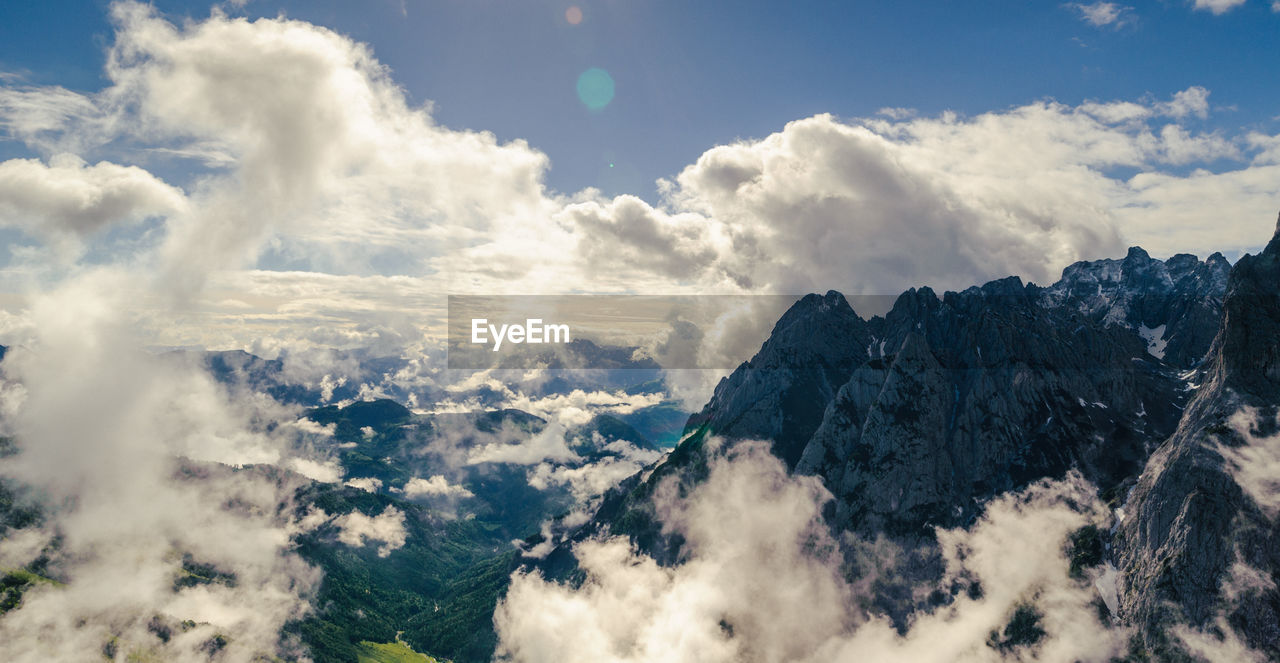 beauty in nature, nature, cloud - sky, sky, scenics, mountain, tranquility, tranquil scene, no people, outdoors, day, range