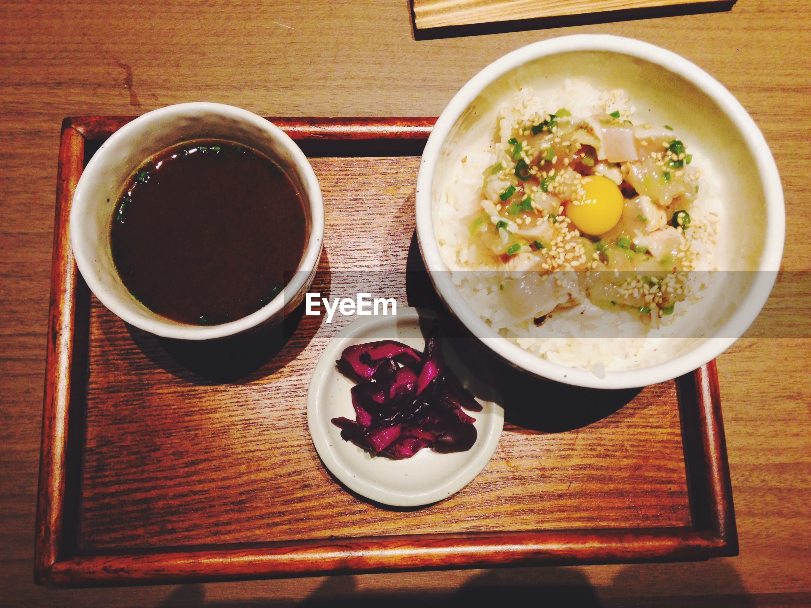 food and drink, table, freshness, food, indoors, still life, healthy eating, plate, ready-to-eat, bowl, high angle view, directly above, drink, meal, serving size, wood - material, spoon, breakfast, refreshment, served