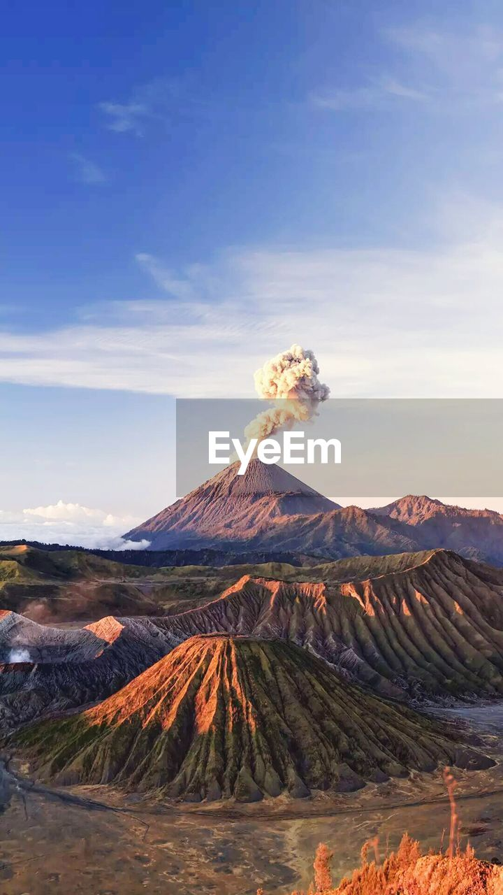 Volcanic Landscape From Indonesia