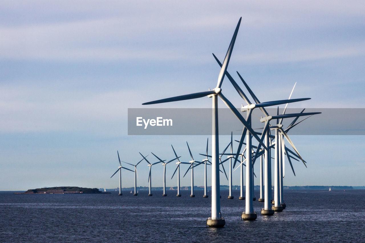 Windmills On The Sea