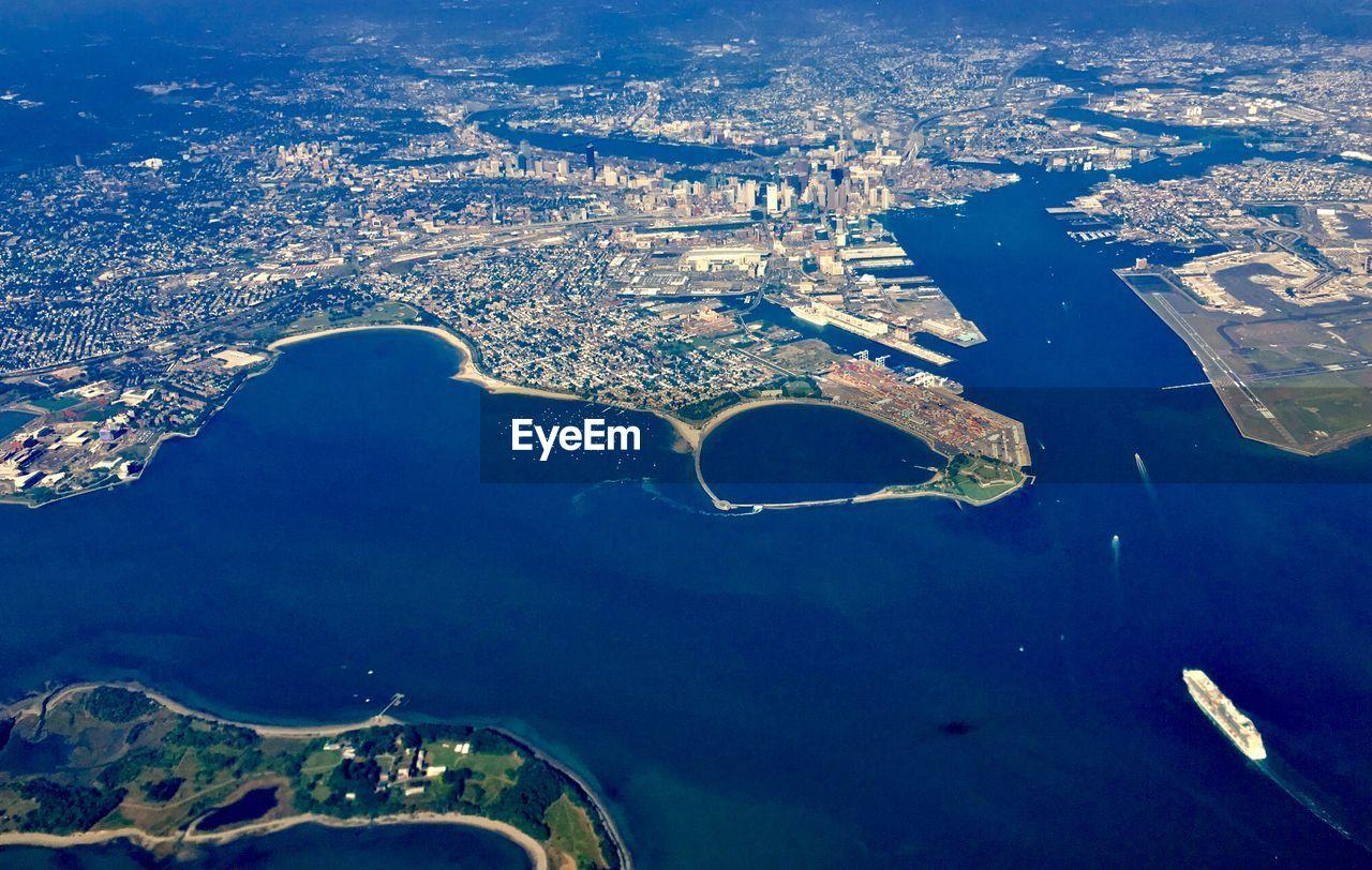 Boston aerial view