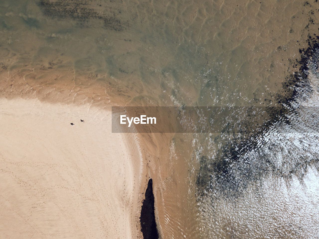 sea, water, land, beach, sand, beauty in nature, high angle view, nature, wave, motion, surfing, aquatic sport, sport, day, scenics - nature, tranquility, outdoors, non-urban scene, power in nature