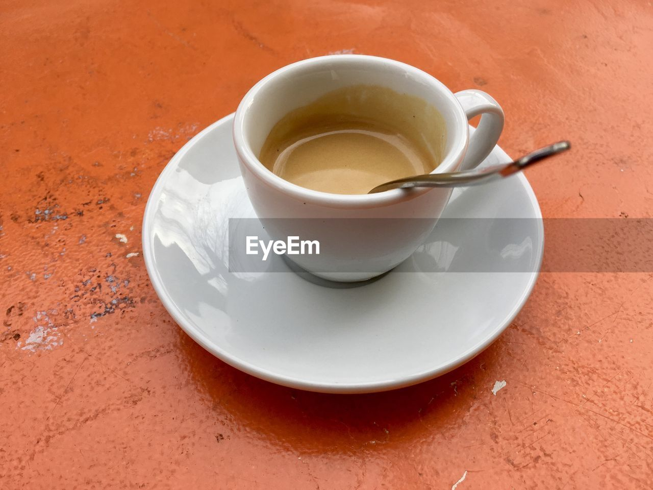 refreshment, drink, food and drink, saucer, table, high angle view, freshness, no people, close-up, day