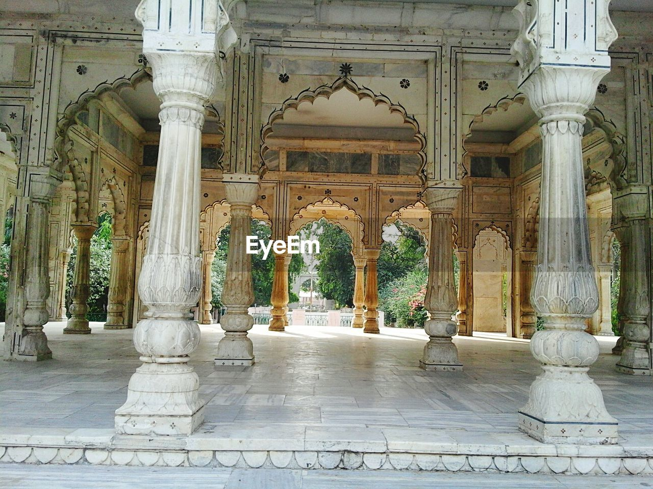 Architectural Columns Of Building