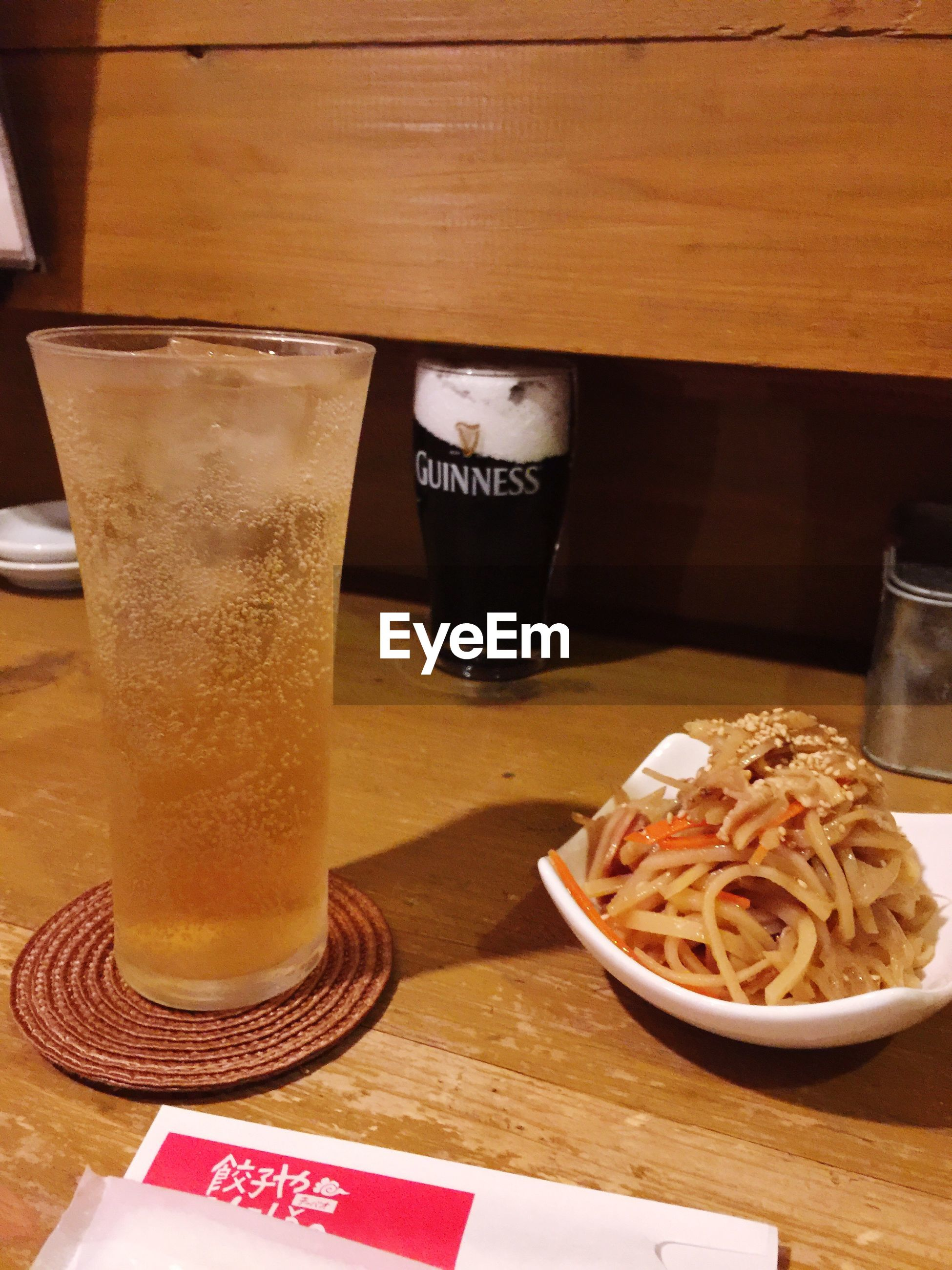 drink, table, food and drink, text, refreshment, freshness, indoors, drinking glass, drinking straw, food, beer, no people, healthy eating, close-up, alcohol, ready-to-eat, day