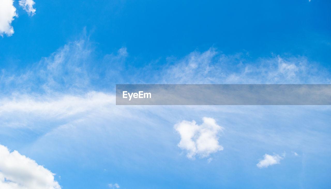 LOW ANGLE VIEW OF SKY