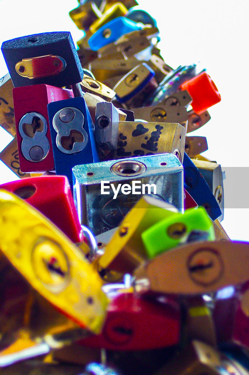 multi colored, large group of objects, selective focus, choice, variation, no people, still life, toy, abundance, close-up, creativity, group of objects, day, collection, man made, group, indoors, man made object, art and craft