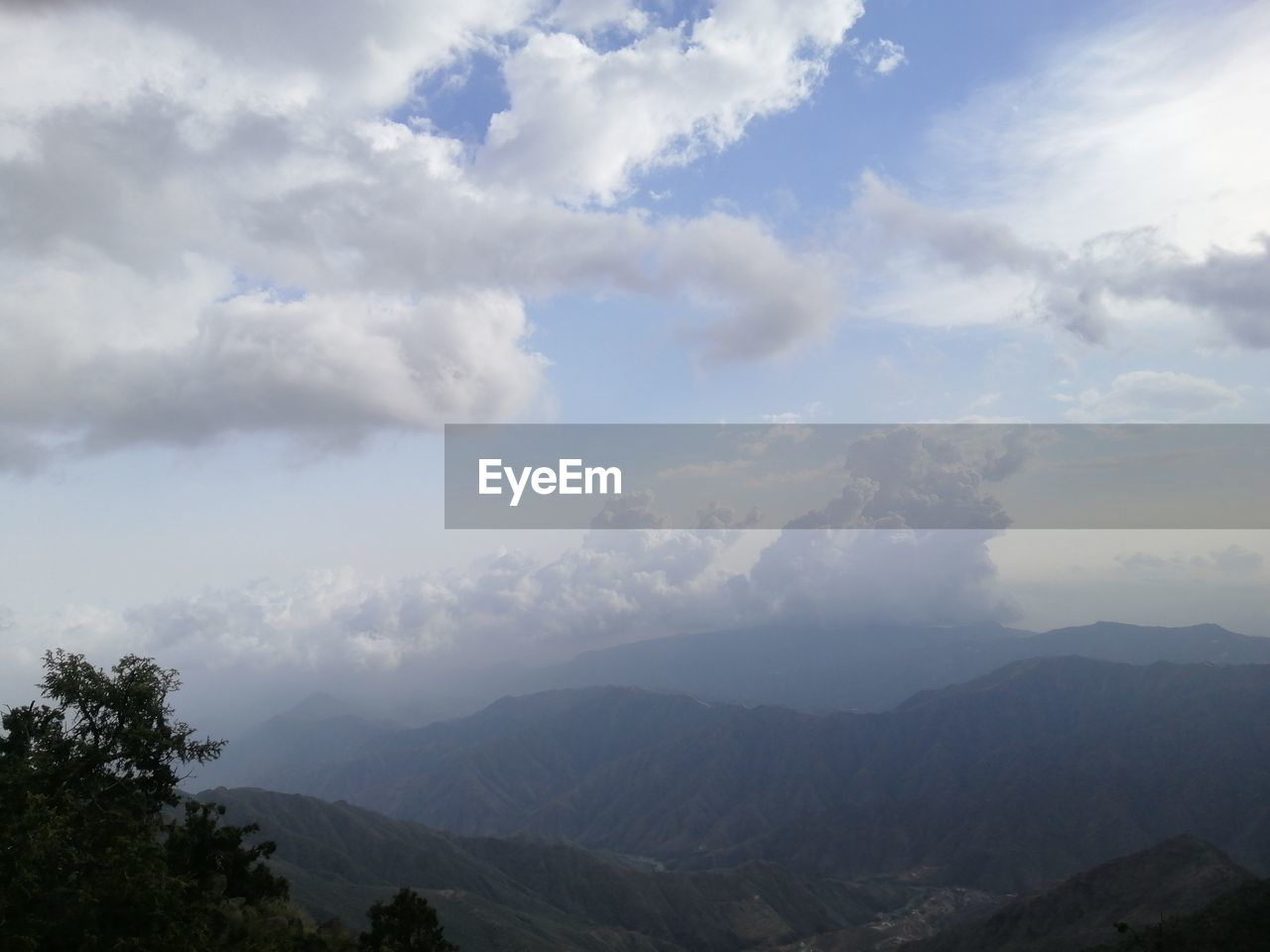mountain, cloud - sky, sky, scenics - nature, beauty in nature, tranquility, tranquil scene, mountain range, non-urban scene, nature, idyllic, environment, tree, day, no people, landscape, plant, remote, outdoors, mountain peak