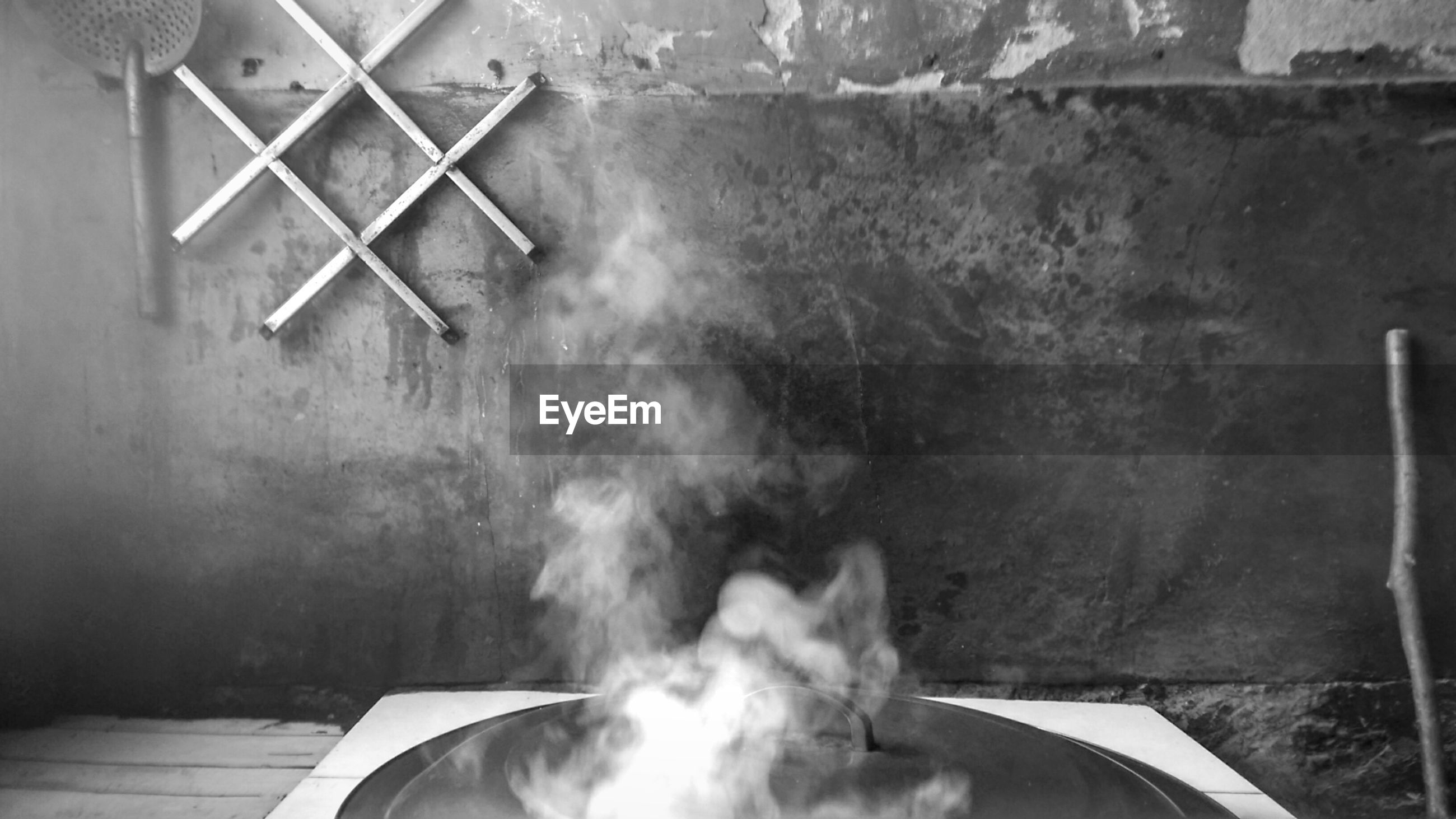 water, high angle view, indoors, motion, part of, day, cropped, smoke - physical structure, built structure, sunlight, wood - material, nautical vessel, smoke, wall - building feature, close-up, chair