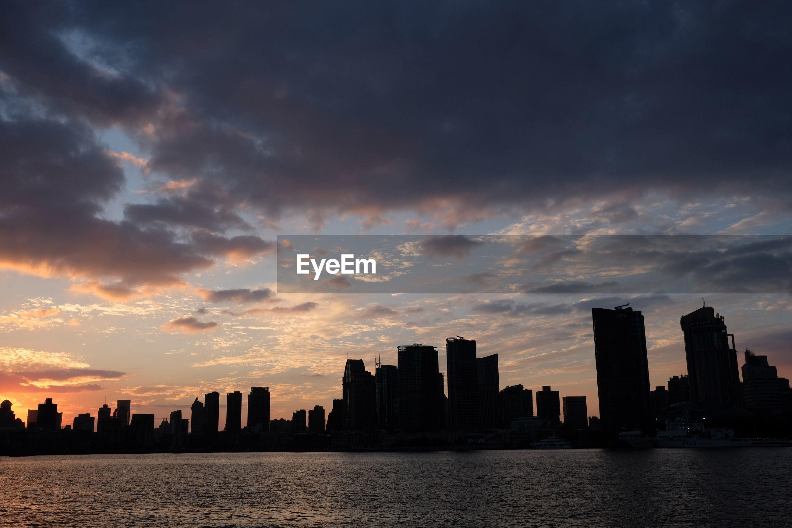 CITY SKYLINE AGAINST SKY