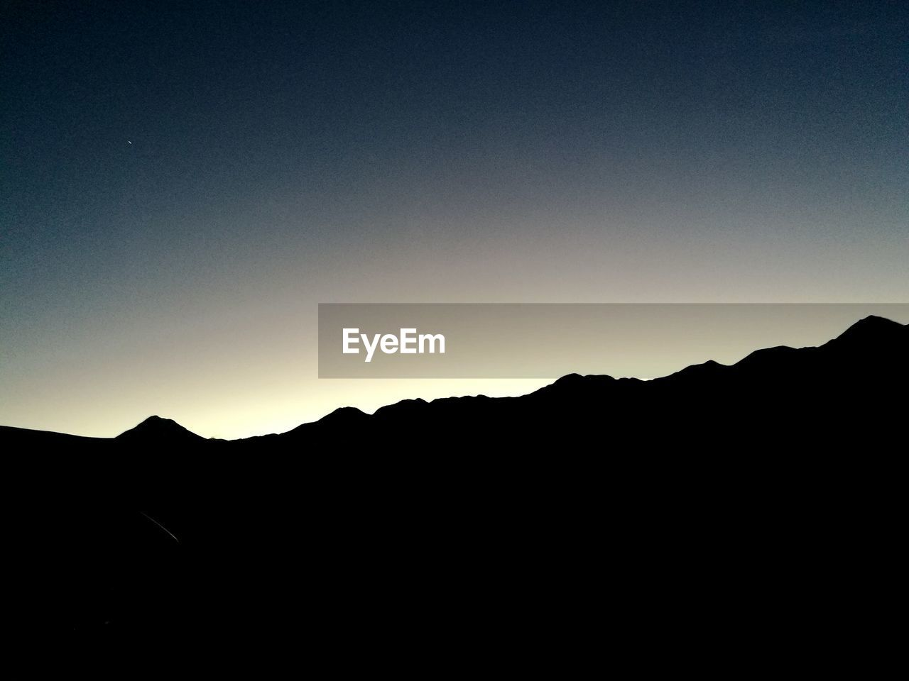 silhouette, copy space, mountain, dark, clear sky, nature, no people, beauty in nature, tranquility, scenics, outdoors, sky, day