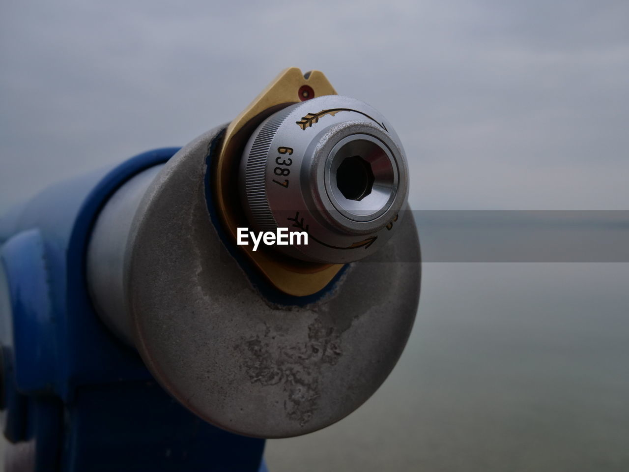 water, sea, focus on foreground, sky, binoculars, coin operated, nature, close-up, technology, no people, day, coin-operated binoculars, metal, security, outdoors, photography themes, protection, surveillance, single object, hand-held telescope