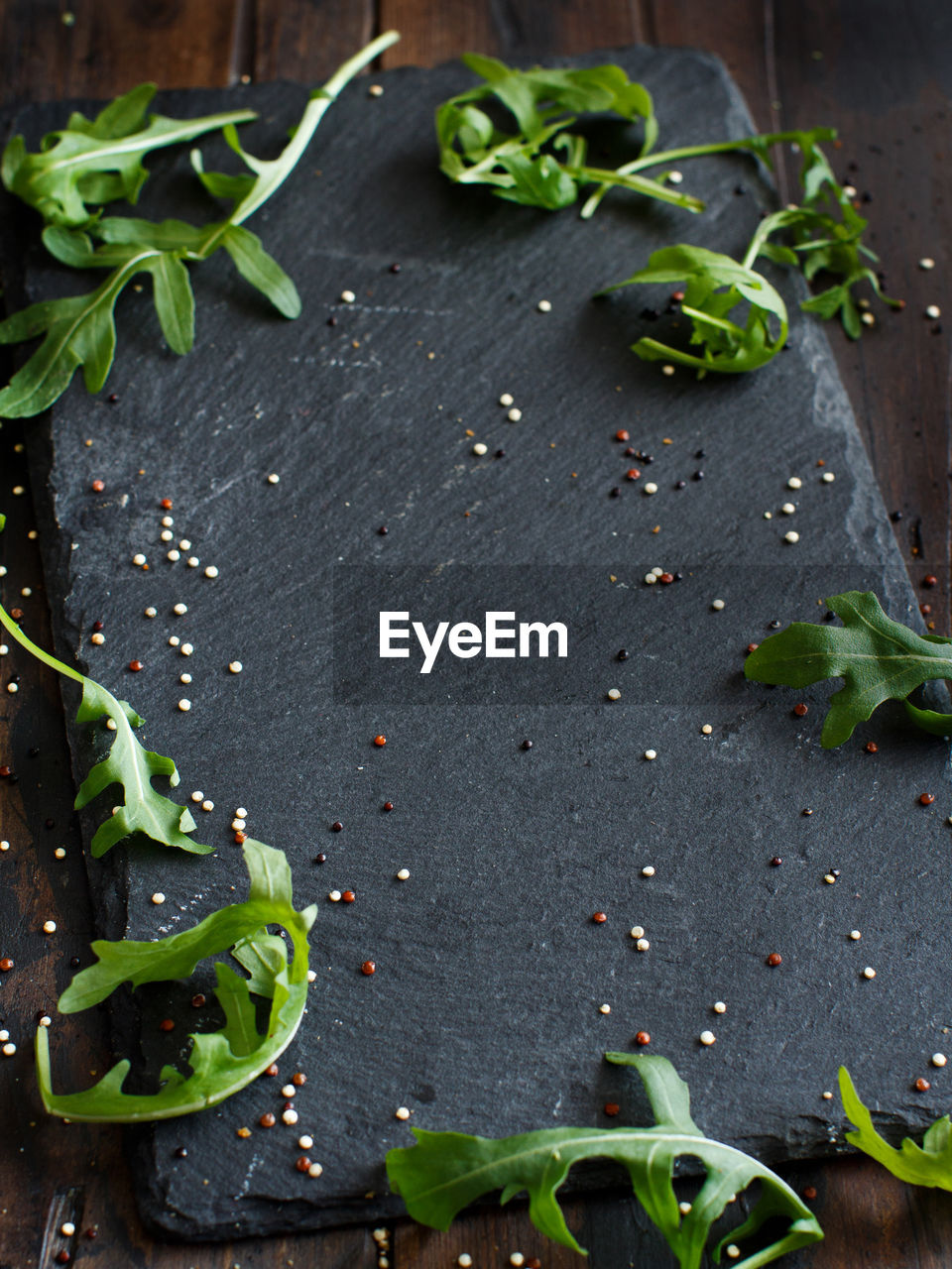 food, food and drink, healthy eating, freshness, wellbeing, plant part, leaf, vegetable, green color, close-up, no people, herb, high angle view, plant, still life, table, spice, ingredient, indoors, seed, garnish, vegetarian food