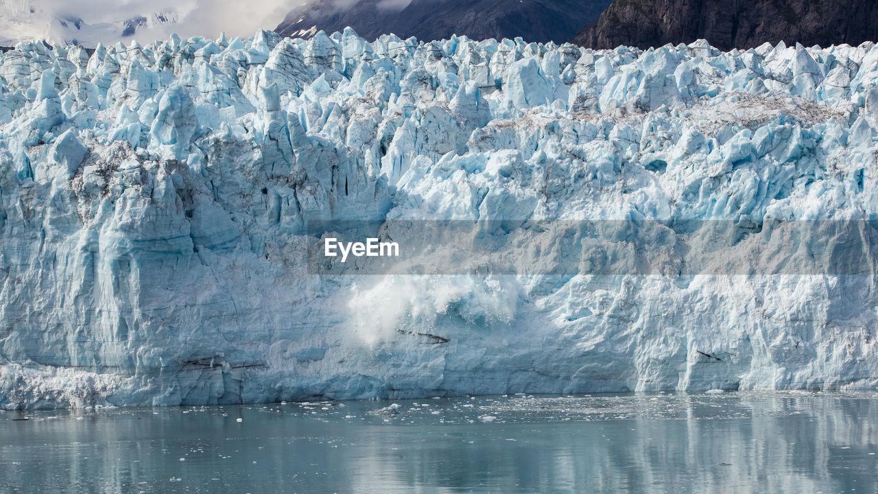 water, ice, glacier, sea, cold temperature, winter, environment, frozen, beauty in nature, day, nature, landscape, waterfront, scenics - nature, no people, snow, non-urban scene, outdoors, melting, iceberg